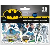 Магнитные наклейки Бэтмен, 20 шт.