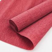 Упаковочная гофрированная бумага (0,5*2,5 м) Красный, 1 шт.