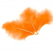 Перья, Оранжевый, 10*15 см, 30 шт.
