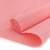 Упаковочная гофрированная бумага (0,5*2,5 м) Лососевый, 1 шт.