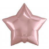 Шар (19''/48 см) Звезда, Розовое Золото, 1 шт.