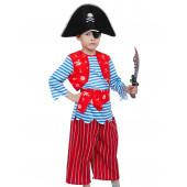 Карнавальный костюм Пират Билли, р-р S, 1 шт.