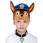 Карнавальная шапка Щенячий патруль, Гончик Чейз, 1 шт.