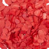 Конфетти тишью Сердце, Красный, 2,5 см, 50 гр.