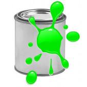 Краска для печати на воздушных шарах, Зеленый, флюор, 0,87 л.