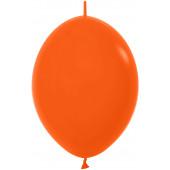 Линколун (12''/30 см) Оранжевый (061), пастель, 50 шт.