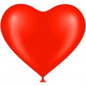 Сердце (12''/30 см) Красный (803), пастель, 50 шт.