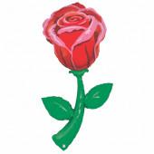 Шар (60''/152 см) Фигура, Роза, 1 шт. в упак.