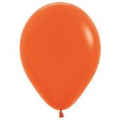 Шар (18''/46 см) Оранжевый (061), пастель, 25 шт.