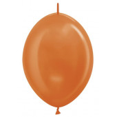 Линколун (12''/30 см) Оранжевый (561), металлик, 100 шт.