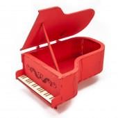 Декоративный ящик Рояль, Красный, 24*16*11 см, 1 шт.