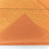 Упаковочная бумага, Тишью (0,5*0,65 м) Оранжевый, 10 шт.