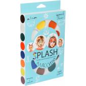 Аквагрим профессиональный, Splash, Голубой, 8 цветов