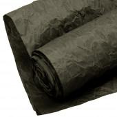 Упаковочная жатая бумага (0,7*4,57 м) Эколюкс, Черный графит, 1 шт.