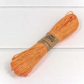 Шнур бумажный (0,15 см*50 м) Оранже...