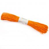 Шнур бумажный (0,2 см*47 м) Оранжевый, 1 шт.