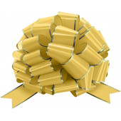 Бант Шар, Золото, Металлик, 36 см, 1 шт.