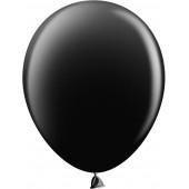 Шар (10''/25 см) Черный, пастель, 100 шт.