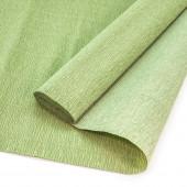 Упаковочная гофрированная бумага (0,5*2,5 м) Оливково-зеленый, 1 шт.