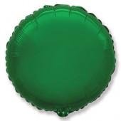 Шар (32''/81 см) Круг, Зеленый, 1 шт.