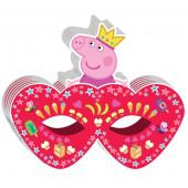 Маска Свинка Пеппа, Принцесса, Розовый, 6 шт.