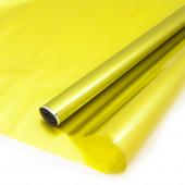 Упаковочная пленка (0,6*10 м) Оливковый, Металлик, 1 шт.