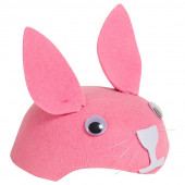 Шляпа, Зайка, Розовый