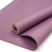 Упаковочная бумага, Крафт 70гр (0,7*10 м) Сиреневый, 1 шт.
