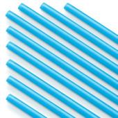 Палочки из пищевого пластика для шаров и сахарной ваты, Голубой, 100 шт.