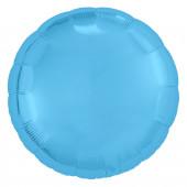 Шар (18''/46 см) Круг, Холодно-голубой, 1 шт.