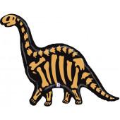 Шар (50''/127 см) Фигура, Палеонтология, Динозавр Бронтозавр, 1 шт.