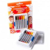 Гримировальные карандаши, Зверята, 6 цветов