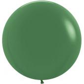 Шар (24''/61 см) Темно-зеленый (032), пастель, 3 шт.