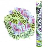 Пневмохлопушка (16/40 см), Доллары и Евро, 1 шт.