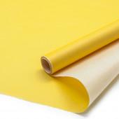 Упаковочная бумага, Папирус 29гр (0,35*5 м) Тонировка, Желтый, 1 шт.