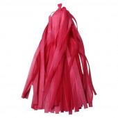 Гирлянда Тассел, Красный, 35*12 см, 12 листов