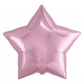 Шар (19''/48 см) Звезда, Розовый фламинго, 1 шт.