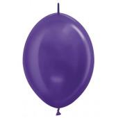 Линколун (6''/15 см) Фиолетовый (551), металлик, 100 шт.