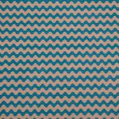 Упаковочная бумага, Крафт 70гр (0,7*10 м) Экошик, Волны, Изумрудный, 1 шт.