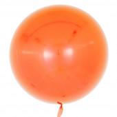 Шар (18''/46 см) Сфера 3D, Deco Bubble, Оранжевый, Глянец, 10 шт.