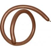 ШДМ (1''/3 см) Шоколадный (076), пастель, 100 шт.