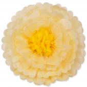 Цветок, Слоновая кость/Желтый (20''/51 см) 1 шт.