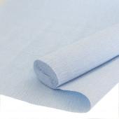 Упаковочная гофрированная бумага (0,5*2,5 м) Светло-голубой, 1 шт.