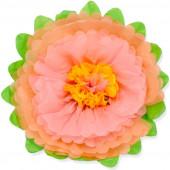 Цветок, Персиковый/Розовый (20''/51 см) 1 шт.
