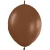 Линколун (12''/30 см) Шоколадный (076), пастель, 100 шт.