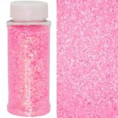 Конфетти фольга, Шестиугольники, Светло-розовый, 90 гр.