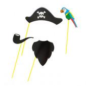 Набор для фотосессии Пират и попугай, 1 шт.