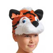 Карнавальная шапка Тигрица, 1 шт.