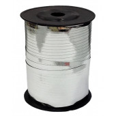 Лента (0,5 см*250 м) Серебро, Металлик, 1 шт.