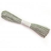 Шнур бумажный (0,2 см*47 м) Серый, 1 шт.